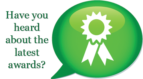 Have you heard about the latest awards?