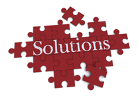 Red Solutions Puzzle