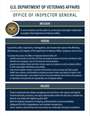 Icon of OIG Mission, Vision, Values poster