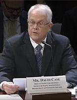 Deputy Inspector General David Case Testifying
