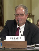 John Daigh Testifying