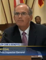 Inspector General Michael J. Missal Testifying