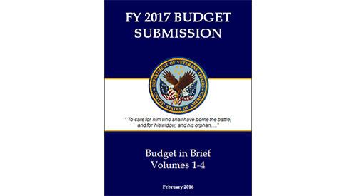 Fiscal Year 2015 Budget Submission Covers