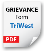Filing Grievance with TriWest Icon