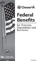 Federal Benefits for Veterans, Dependents & Survivors Cover