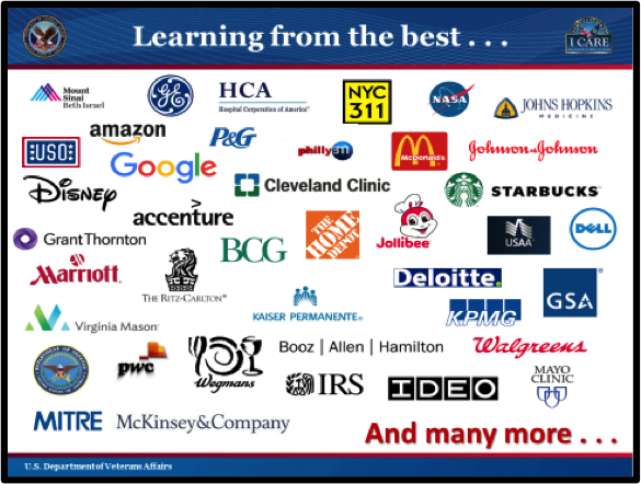 CHART 4:  LEARNING FROM THE BEST ORGANIZATIONS. The content on this slide is explained below