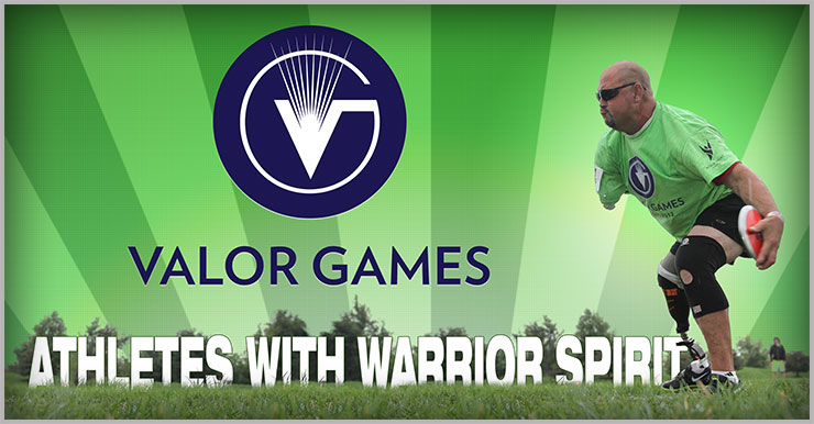 Image of Veteran at the Valor games