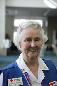 Volunteer, Peg Holliday