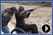 Hot Springs, Shooting and More Skiing - After several days of downhill skiing at the National Disabled Veterans Winter Sports, participants get the chance to relax in natural hot springs and put their marksmanship skill to the test at the Basalt Shooting Range.