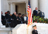 Secretary James B. Peake, M.D., delivers remarks during the National Veterans Day Observance