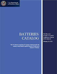 Batteries Catalog Cover