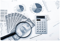 Financial analysis tools and reports