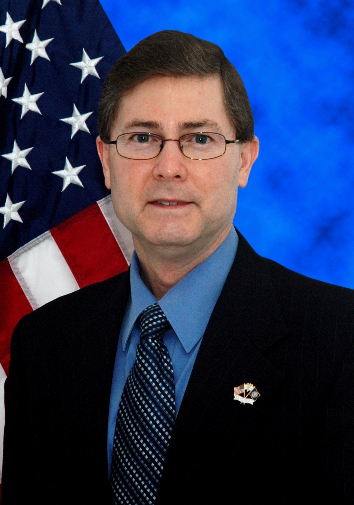 Photograph of Dr. John Townsend, Director of VA Optometry Service