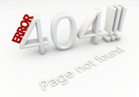 Error 404!! Page not found