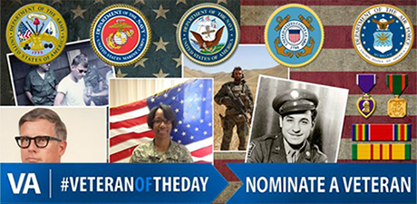 #VeteranOfTheDay Banner